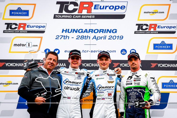 Quotes from the drivers on Race 1 podium