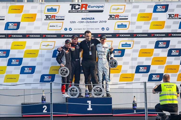 Quotes from the podium finishers in Monza Race 1