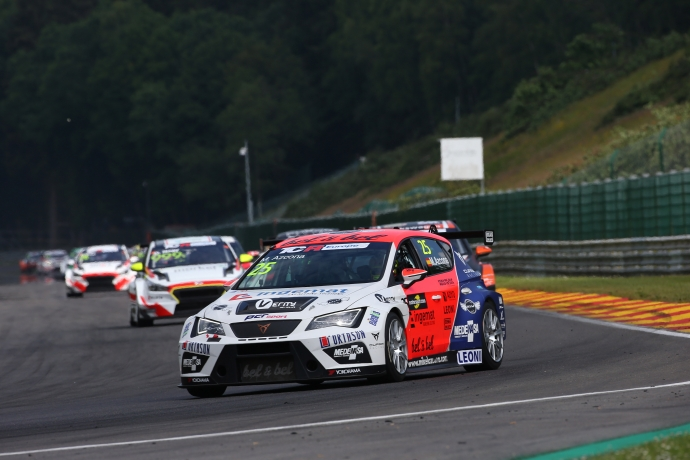 2018-2018 Spa Race 2---2018 TCR Europe Spa R2, 25 Mikel Azcona_228