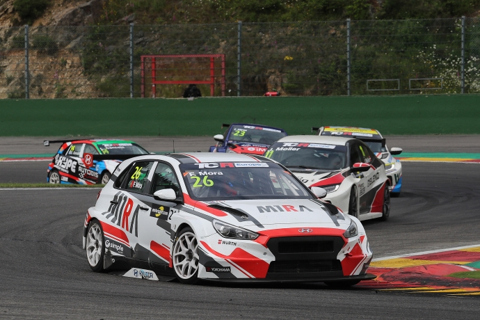 2018-2018 Spa Race 2---2018 TCR Europe Spa R2, 26 Francisco Mora_118