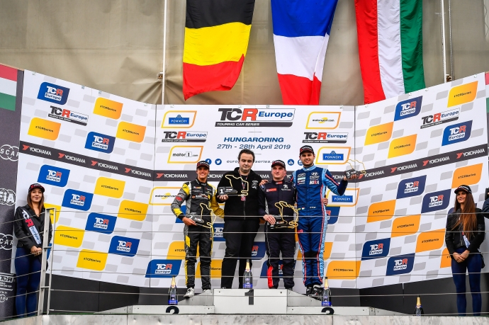 2019-2019 Hungaroring Race 2---2019 EUR Hungaroring R2, podium_2