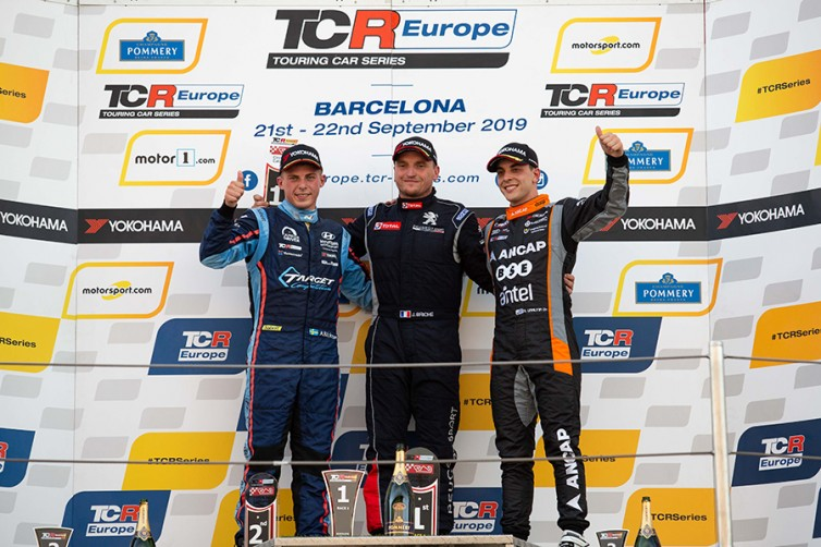 Quotes from the podium finishers in Race 1