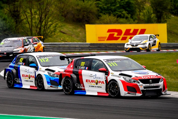 Clairet Sport to field three Peugeot 308 cars