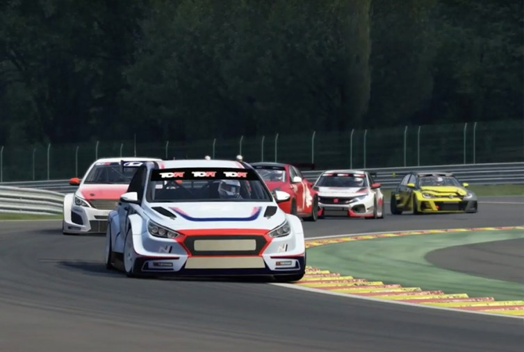 Format of the TCR Europe SIM Racing Series unveiled