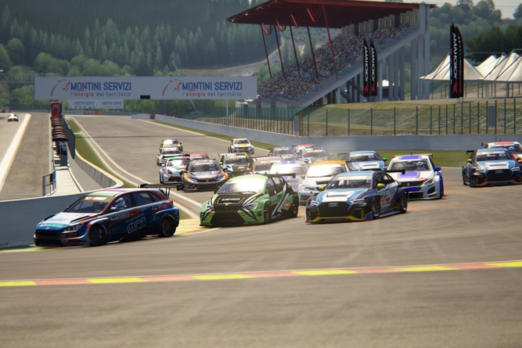 A clean sweep for Nagy in the Spa SIM races