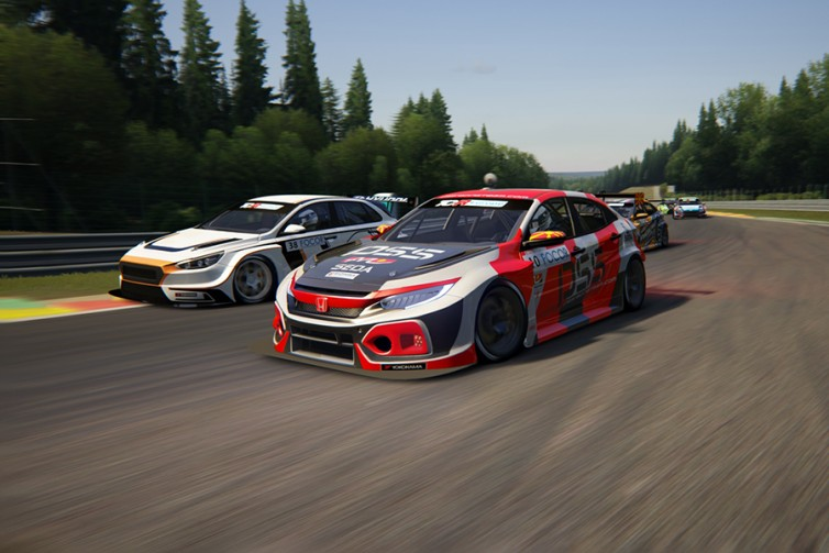 300 hours of work are needed to digitalise a TCR car