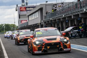 Azcona sets the challenge at the Slovakiaring