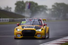'Just playing' Coronel is fastest in the rain