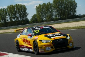 Coronel secures a dramatic pole position at the Slovakiaring