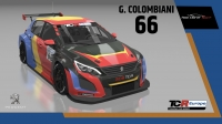 2020-2020 SIM Racing cars---2020 TCR Europe SIM cars new bis, 66 Gilles Colombani