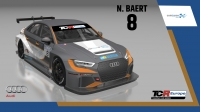 2020-2020 SIM Racing cars---2020 TCR Europe SIM cars new bis, 8 Nicolas Baert