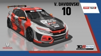 2020-2020 SIM Racing cars---2020 TCR Europe SIM cars new, 10 Viktor Davidovski