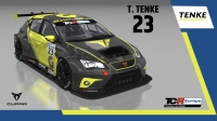 2020-2020 SIM Racing cars---2020 TCR Europe SIM cars new, 23 Tamas Tenke
