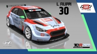 2020-2020 SIM Racing cars---2020 TCR Europe SIM cars new, 30 Luca Filippi