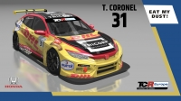 2020-2020 SIM Racing cars---2020 TCR Europe SIM cars new, 31 Tom Coronel