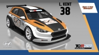 2020-2020 SIM Racing cars---2020 TCR Europe SIM cars new, 38 Lewis Kent