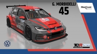2020-2020 SIM Racing cars---2020 TCR Europe SIM cars new, 45 Gianni Morbidelli