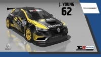 2020-2020 SIM Racing cars---2020 TCR Europe SIM cars new, 62 Jack Young
