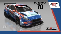 2020-2020 SIM Racing cars---2020 TCR Europe SIM cars new, 70 Mato Homola