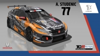 2020-2020 SIM Racing cars---2020 TCR Europe SIM cars new, 77 Andrej Studenic