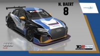2020-2020 SIM Racing cars---2020 TCR Europe SIM cars new, 8 Nicolas Baert