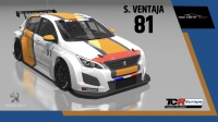 2020-2020 SIM Racing cars---2020 TCR Europe SIM cars new, 81 Stephane Ventaja