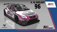 2020-2020 SIM Racing cars---2020 TCR Europe SIM cars new, 96 Abdulla Al-Khelaifi