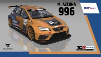 2020-2020 SIM Racing cars---2020 TCR Europe SIM cars new, 996 Mikel Azcona_2