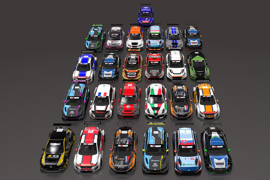 2020 SIM Racing cars