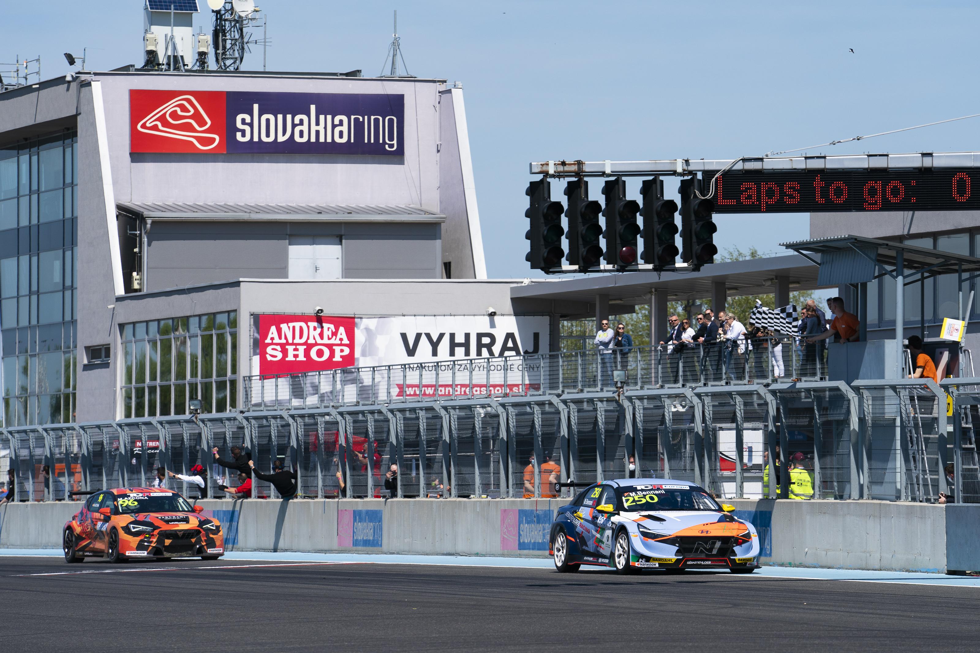 2021 Slovakiaring Race 2
